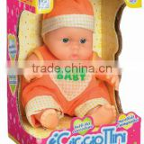 new functional fat boy ABS happy baby doll manufacturer with EN71