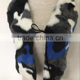 New children baby fight color foreign gas temperament faux fur children vest vest