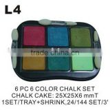 (L4) Colors Chalk Chalk Education Supplies