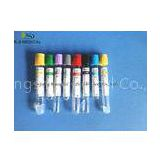 PT Plasma Color Coded Blood Collection Tubes / Vacutainer 16 x 100mm