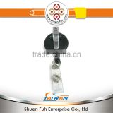 Black Formal Beak clip for identification hold holder Badge Reel
