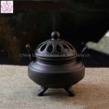 Chinese Ceramic Antique Incense Burner Sandalwood Incense Coil Cone Stove Furnace Censer Home Decor Office Gift and Craft