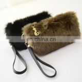 INQUIRY ABOUT 2017 Winter Ladies Mini Evening Bag Coin Purse Faux Fur Clutch Bag