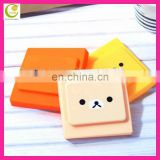 Europe CE standard factory new coming excellent design panda face silicone emergency switch cover