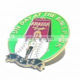 SPORTS BASEBALL LAPEL PIN Gold Black Silver
