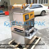 multepak Tray Sealing machine vacuum type with gas flushing