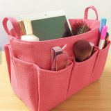 pink organizer bag sotrage bag with waterproof fabric