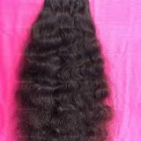 24 Inch No Chemical Curly Human Hair Wigs Full Head