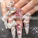 2011 fashion DIY art nail,alloy art nail