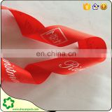 SHE CAN PACK red color fashion grosgrain ribbon in low price