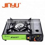 Reasonable price single burner gas stove with cylinder price cylinder