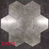 8x9inch Dark Grey Flooring Hexagon Shaped Tiles