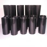 short length carbon fibe tube high glossy 3K twill carbon fiber tube working under water