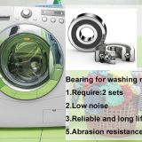 Bearing for washing machine dryer 6207 ZZ low noise C3 HG03 grease 40~+180℃