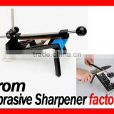Upgraded Version Fixed-angle Knife Sharpener Professional Kitchen Knife Sharpener Kits System 4 Sharpening Stones