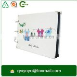 loose-leaf paper cardboard DIY baby growth photo book binder with CMYK printing                                                                         Quality Choice