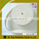 2016 white high quality Eco-friendly wholesale and woven cotton webbing tape