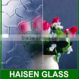 hot sale clear Rolled Glass for windows and shower doors with factory price and CE ISO certificate