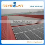 Metal Steel Tile Roof Solar Power Rail System
