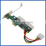 PCIE PCI-E pci express x1 to pci adapter converter card