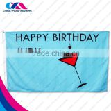advertising product printing fabric birthday banner                                                                         Quality Choice