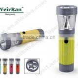 (1500337) Plastic Mini Promotion AA Battery Operated LED Flashlight with Warning Function