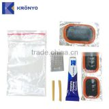 KRONYO bicycle bag radial tire repair patch kit bike accessory