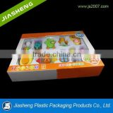 Eco-friendly and non-toxic wholesale gift set baby toy products pacakging box and insert tray