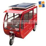 2016 solar tricycle three wheeler electric tricycle for sale made in China for India, South America