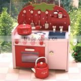 2015 Hotsale Colorful Wooden Fruit Play Kitchen Set,Popular Monther Garden Kitchen Pretend Play Set