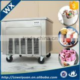 Most Popular Single Pan Thailand Rolled Fry Ice Cream Machine WX-IC-01D