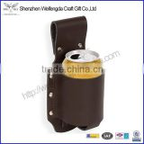 Promotion Perfect Mens Genuine Leather Beer Holster                                                                         Quality Choice