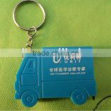 truck shape 1M gift mini measuring tape key ring