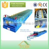 steel signle floor panel hydraulic press roll forming machine metal roof tile roll forming press machine