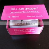 disposable foil/ hairdressing foil for hair beauty industry with printed color box and sawtooth