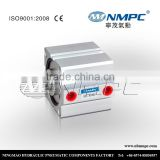 top quality compact air cylinder, SDA 80*80 spring return pneumatic compact cylinders, Single action