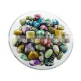 wholesale fashion accessory plastic craft heart beads for bracelets