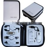 white color with nylon material of the case /usb travel kit,portable USB computer sets/Computer USB Travel Tool Kit