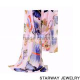 >>HOT Chic Style Butterfly cheap chiffon fashionable scarf/