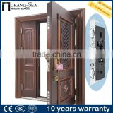Luxury design high quality low price single double exterior security steel door price                                                                         Quality Choice                                                     Most Popular