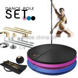 Portable Professional Dance pole Spinning Pole Mat or Bag