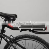 Rear carrier with mudguard for bike