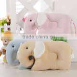 Soft animal shape plush baby pillow memory foam baby pillow