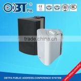 2-way Wall mounted vibrating commercial high class speaker for hotel, office, lobby, classroom