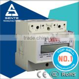 DDS7666 Type single phase electric lcd panel din rail power factor meter with cheap price