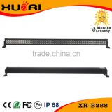 Waterproof 50inch 288W High power led work lighting Epistar car led light bar tow truck led bar light
