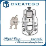 toggle latch lock for drum case hardware