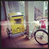 Solar Freezer With Front Load Tricycle Ice Cream Bike                                                                         Quality Choice