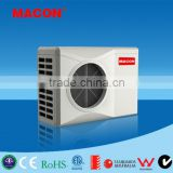 ABS plastic cabinet swimming pool heat pump/spa heat pump with certificate for Europe , Australia, North America
