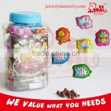 Cartoon Animals Cup Candy Packing With Chocolate Biscuits Ball                                                                         Quality Choice